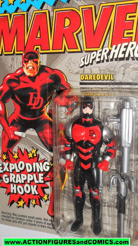 marvel super heroes toy biz DAREDEVIL 1994 black armor universe moc