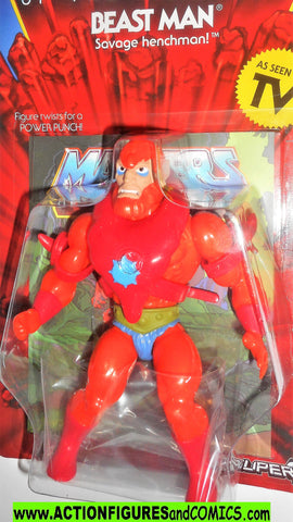 Masters of the Universe BEAST MAN Super 7 cartoon vintage he-man retro moc