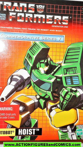 Transformers generation 1 HOIST universe commemorative 2003 reissue