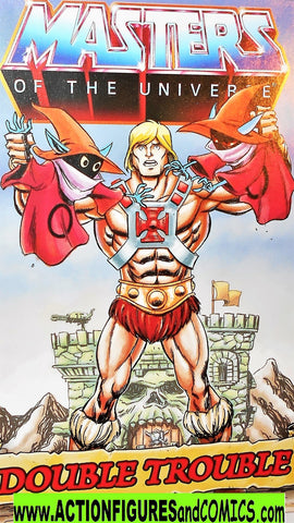 Masters of the Universe DOUBLE TROUBLE mini comic walmart 2020 he-man