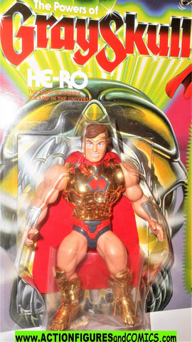 Masters of the Universe HE-RO Super 7 cartoon vintage he-man retro moc