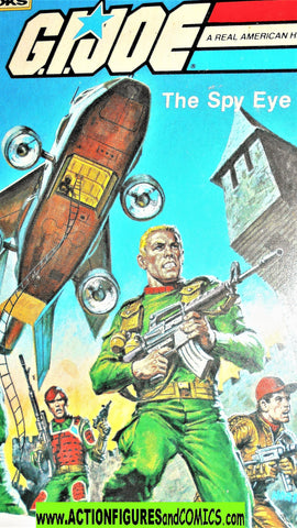 gi joe THE SPY EYE 1983 marvel mighty storybook vintage
