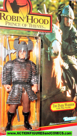 Robin Hood prince of thieves DARK WARRIOR THE 1991 kenner movie action figures moc mip mib