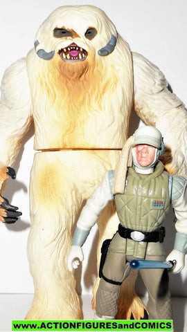 star wars action figures WAMPA hoth LUKE SKYWALKER power of the force