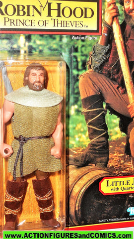 Robin Hood prince of thieves LITTLE JOHN 1991 kenner movie action figures moc mip mib