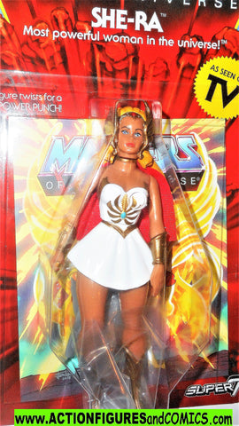 Masters of the Universe SHE-RA Super 7 cartoon vintage he-man retro moc