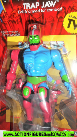 Masters of the Universe TRAP JAW Super 7 cartoon vintage he-man retro moc