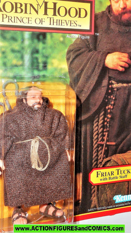Robin Hood prince of thieves FRIAR TUCK 1991 kenner UNPUNCHED moc