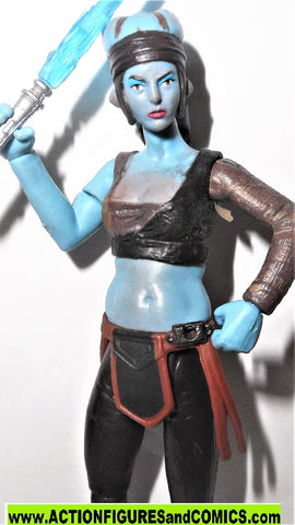 star wars action figures AAYLA SECURA betrayal at felucia SAGA target 2007