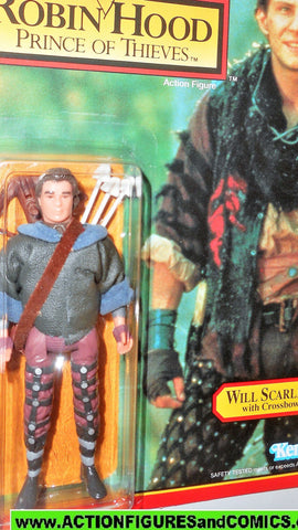 Robin Hood prince of thieves WILL SCARLETT 1991 kenner UNPUNCHED moc
