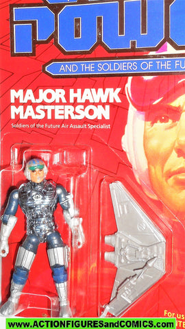 Captain Power MAJOR HAWK MASTERSON Soldiers of the Future moc