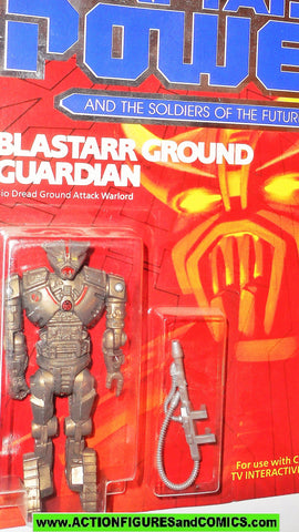 Captain Power BLASTARR ground Guardian 1987 Soldiers of the Future moc