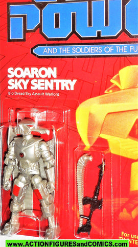 Captain Power SOARON SKY SENTRY 1987 Soldiers of the Future moc