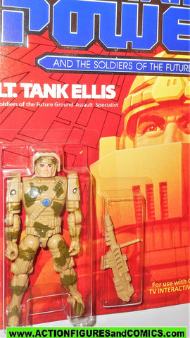 Captain Power LT TANK ELLIS Soldiers of the Future Leader 1987 vintage moc
