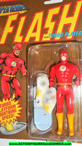 DC comics Super Heroes FLASH 1990 toy biz toybiz universe action figure fig