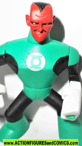 dc universe action league SINESTRO green lantern Walmart brave and the bold