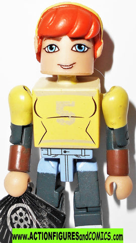 minimates Teenage Mutant Ninja Turtles APRIL O'NEIL series 1 KEYCHAIN 2015