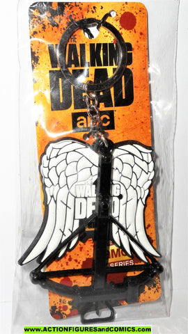 The Walking Dead DARYL DIXON Crossbow Angel wings keychain key chain moc