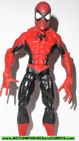 marvel legends SPIDER-MAN classics wall sticking web black variant 2009
