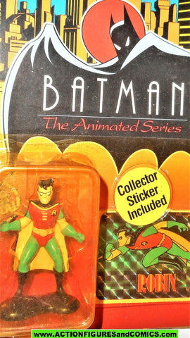 batman animated series Ertl ROBIN die-cast metal figure moc