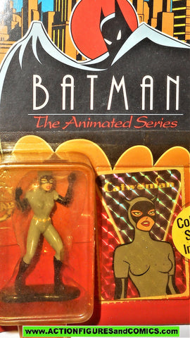 batman animated series Ertl CATWOMAN die-cast metal figure dc universe moc
