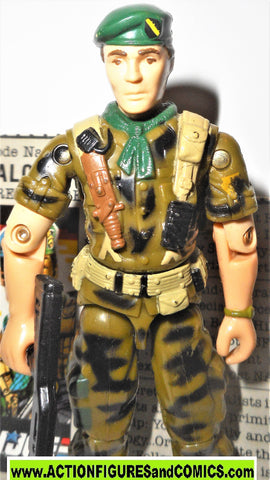 Gi joe LT FALCON 1987 vintage near complete w file card gijoe