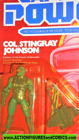 Captain Power COL STINGRAY JOHNSON 1987 Soldiers of the Future moc