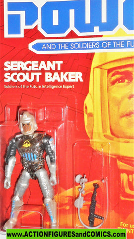 Captain Power SERGEANT SCOUT BAKER 1987 Soldiers of the Future moc