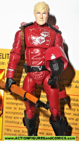 gi joe CRIMSON GUARD 2008 v10 25th anniversary UNMASKED fred complete nofc