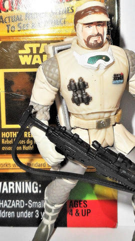 star wars action figures HOTH REBEL SOLDIER trooper 1996 1998 FF