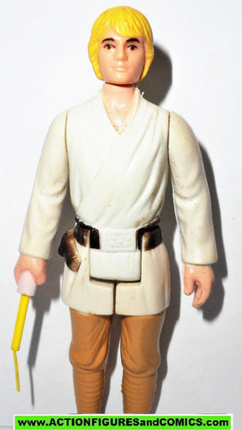 star wars action figures LUKE SKYWALKER 1977 Complete TAIWAN COO kenner vintage