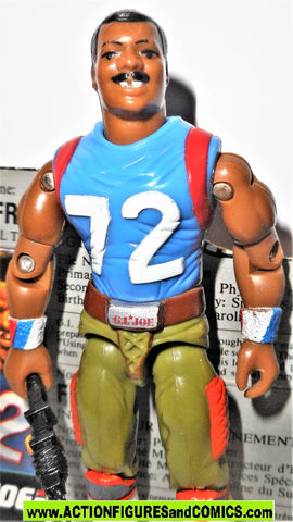 Gi joe FRIDGE refrigerator PERRY 1987 100% complete w file card gijoe