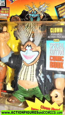 Spawn CLOWN 1994 series 1 todd mcfarlane toys 1995 human head moc
