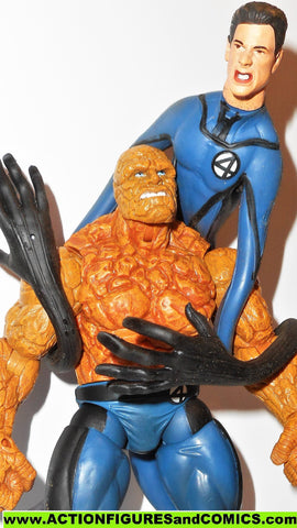 marvel legends MR FANTASTIC 13 inch & RAGING THING four 4 movie 2005 classics