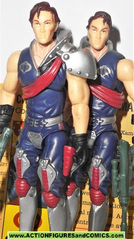 gi joe TOMAX & XAMOT v6 2008 crimson guard twins 25th anniversary