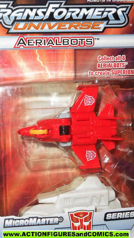 Transformers universe FIREFLIGHT superion arealbots micromaster 2004 moc