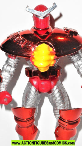 Iron man CRIMSON DYNAMO 1996 marvel universe action hour toy biz figures