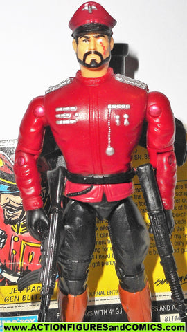 Gi joe GENERAL BLITZ sgt savage JET PACK 1994 gijoe g i 100%