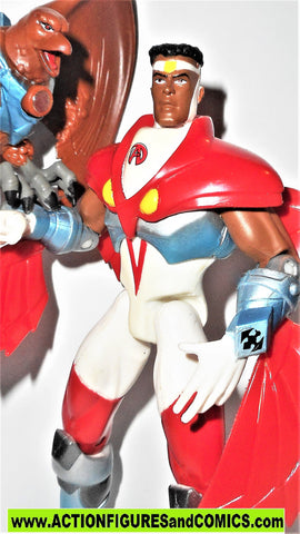 AVENGERS united they stand toy biz FALCON 1999 Animated action figure