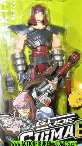 Gi joe ZARTAN sigma 6 six 8 inch action figure dreadnok hasbro moc mib