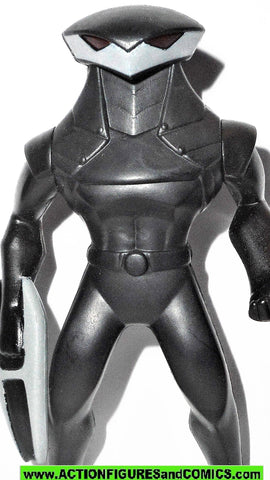 Young Justice BLACK MANTA aquaman McDonalds toy action figure 2011