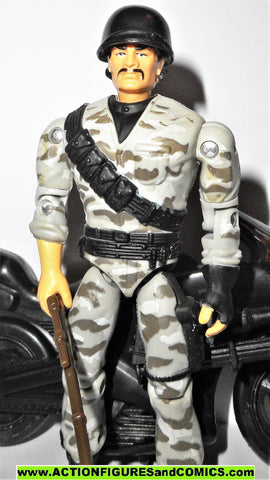 Gi joe DYNAMITE sgt savage URBAN ATTACK MOTRORCYCLE 1994 g i 100%