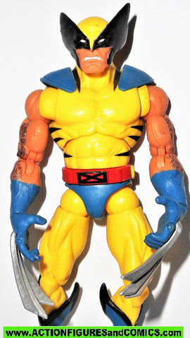 marvel legends WOLVERINE red hulk wave YELLOW VARIANT universe