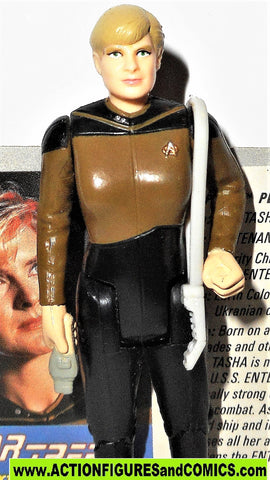 Star Trek NATASHA YAR 1988 galoob action figures tng the next generation