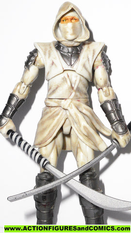 marvel universe WHITE HAND NINJA 2010 exclusive storm shadow gi joe
