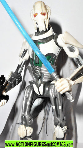 star wars action figures GENERAL GRIEVOUS exploding body 36 rots