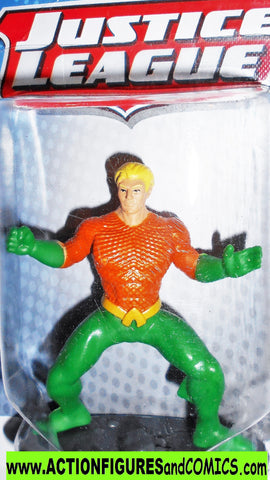 Justice League AQUAMAN dc universe 3 inch cake topper toy moc