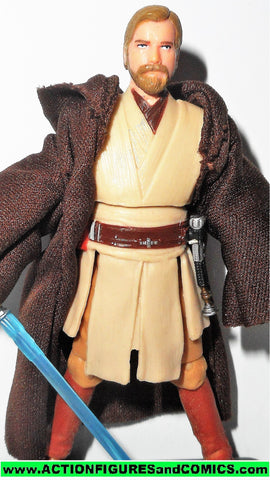 star wars action figures OBI WAN KENOBI 028 28 saga collection 2006