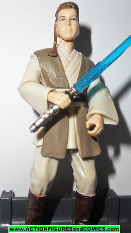 star wars action figures ZETT JUKASSA padawan 2005 Revenge of the sith