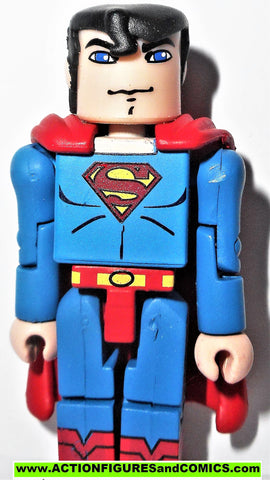 minimates SUPERMAN throne room classic 2007 dc universe wave action figure
